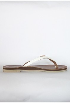 Synthetic Leather Belt Buckle Flats