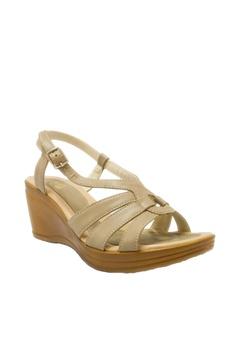 6d1975bd56bf BANDOLINO grey Stella Wedge Sandals EAADASHF75E2F0GS 1