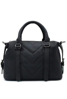 Image of Christa Satchel bag - Black