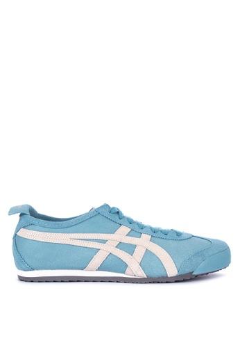 Onitsuka Tiger blue Mexico 66 Sneakers 527F8SHCF99E9DGS_1