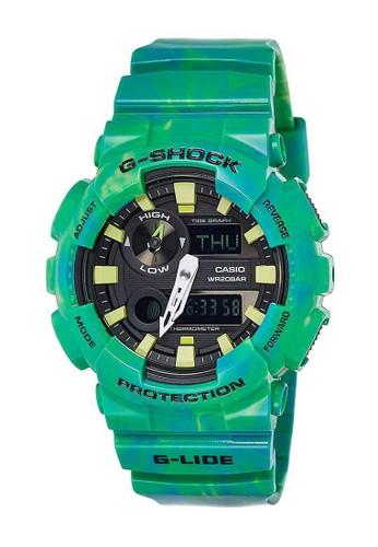 G-Shock green G-Shock Men GAX-100MB-3ADR Green 606A1ACBE17236GS_1