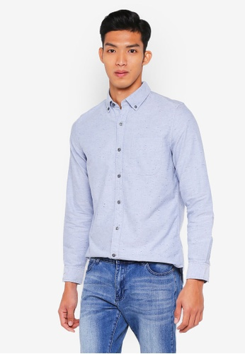 GAP blue Fall 18 Standard Oxford Shirt 18BAEAAEE3B974GS_1