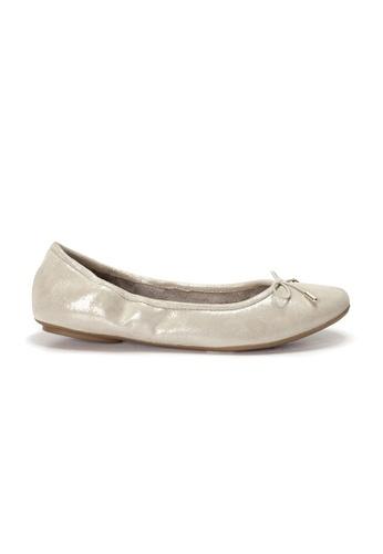 Shu Talk gold AMAZTEP NEW Comfy Sole Suede Leather Ballerina Ballet Flats 5E728SHA06E9C2GS_1