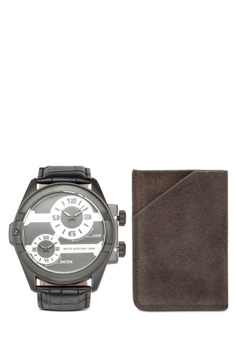 SO&CO black Madison 5209 Watch Set DDC58ACD67761EGS_1