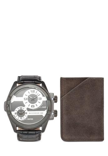 SO&CO black Madison 5209 Watch Set DDC58ACD67761EGS_1