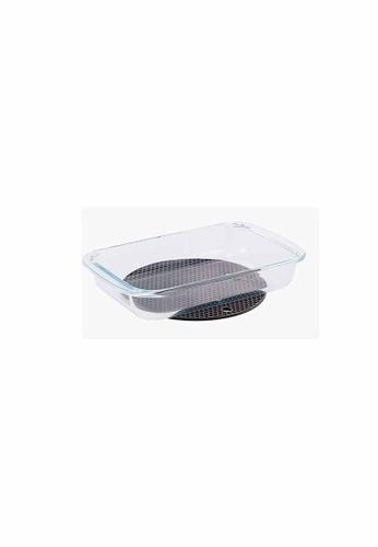 Slique n/a Premium Borosilicate Rectangle Glass Baking Dish 1000ml 73E18HL9B715C2GS_1