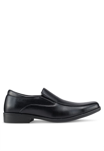 Rocklander black Formal Slip On Shoes B514ASHC64D3F5GS_1