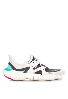 sale retailer 83393 f1ab9 Nike white Womens Nike Free Rn 5.0 Shoes 361A8SHB11A17BGS 1