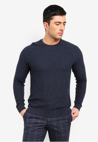 ESPRIT blue Long Sleeve Sweater 80062AAAB6E6F3GS_1