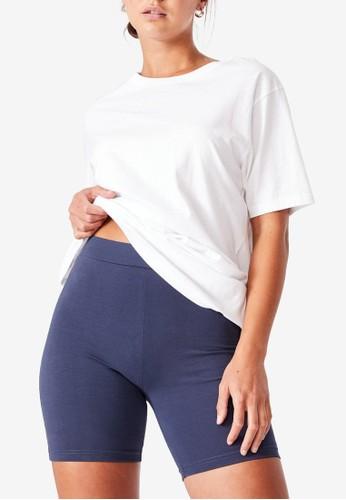 Cotton On blue The Pip Jersey Bike Shorts 8C374AA774B2BEGS_1