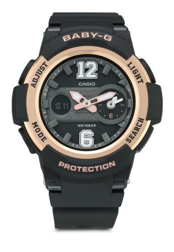 Casio 黑色 Casio Baby-G Watch BGA-210-1BDR AFE44ACC2B9D10GS_1