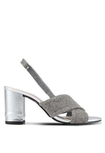 DMK grey Block Heels DM860SH0SF49MY_1