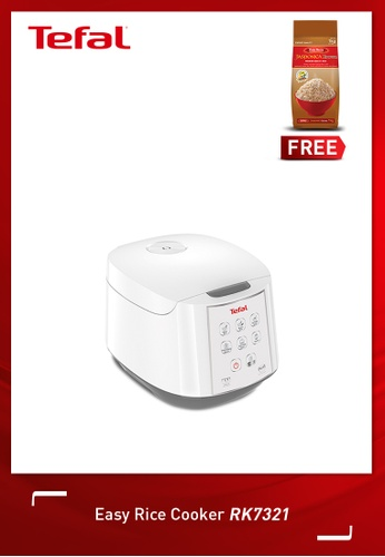 Tefal white Easy Rice Cooker 2F3B7HLE6DF399GS_1