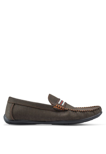 Louis Cuppers brown Casual Moccasins LO977SH69ZKCMY_1