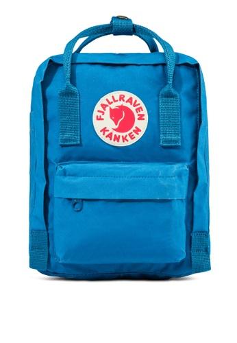 Fjallraven Kanken blue Lake Blue Kanken Mini Backpack FJ859AC76CSLSG_1