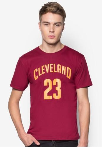 Cleveland京站 esprit #23 籃球風T 恤, 服飾, T恤
