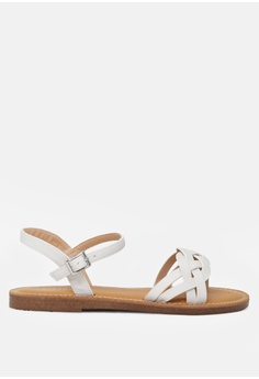 a9499225441 London Rag white Open Toe Flat Sandal DFECDSHC532EF5GS 1