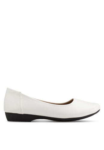 Louis Cuppers white Basic Flats LO977SH45BDIMY_1