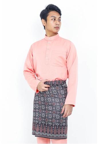 STARVILION pink Dominique Baju Melayu 92052AA01D59FEGS_1
