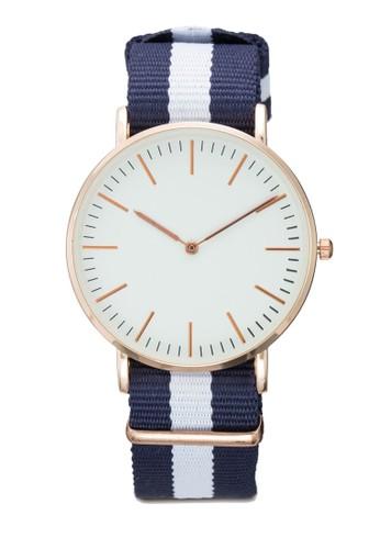 經esprit旗艦店典條紋圓錶, 錶類, 其它錶帶