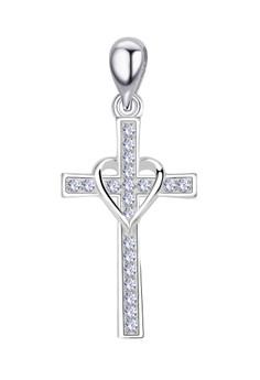 Cross Stone Pendant