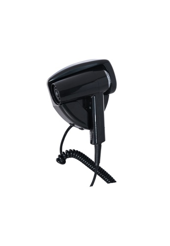 JVD JVD Lifestyle Piccolo Pro Hairdryer with wall-mounted holder (1200W), Black 32A32BE7618107GS_1