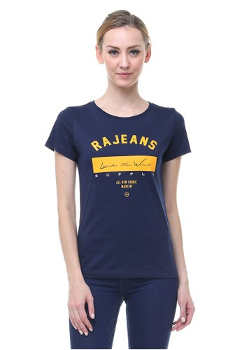 RA Jeans Perry Top Navy