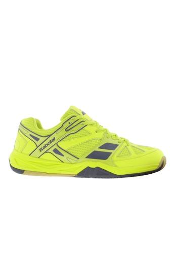 Babolat yellow Shadow First Unisex Badminton Shoes BA220SH49ETYPH_1