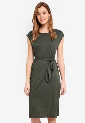 Cotton On multi Fiona Tie Waist Midi Dress 312BAAACD70127GS_1