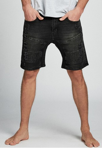 Cotton on black Straight Short 9C2F1AAC7BF935GS_1