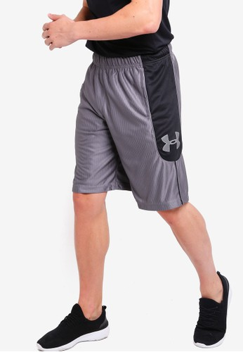 Under Armour grey UA Perimeter 11In Shorts 84538AA9934E84GS_1