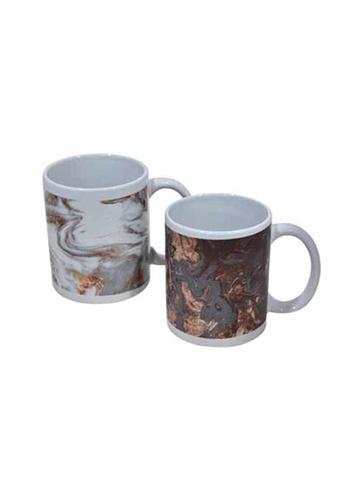 Slique brown Premium Ceramic 2 Pcs Mug Set 300 ml 854C9HL16AF56EGS_1