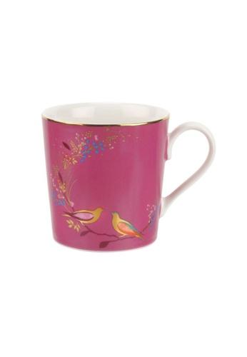Sara Miller pink Sara Miller London - Chelsea Mug - Pink Birds (SMCP78914-XG) 65AE3HLDDCA949GS_1