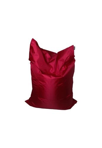 doob red PLOPSTA' - versatile spill-proof doob bean bag (Wine Red) A393CHL289AAA4GS_1