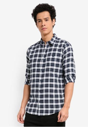 Cotton On navy Rugged Light Shirt 920ADAAB854A1CGS_1