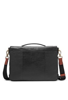 fb83355ce9 20% OFF Fossil Fossil Defender Black Leather Messenger MBG9345001 S$ 539.00  NOW S$ 431.20 Sizes One Size