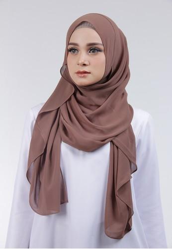 Cantik Kerudung brown Adela Instant E67A2AA4596F64GS_1