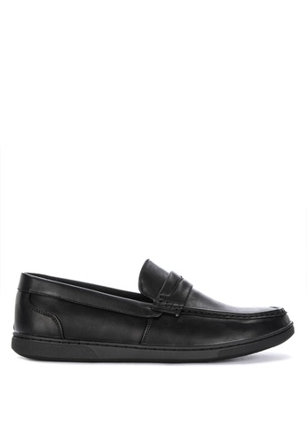 H2Ocean black Quintus Men's Casual Slip-ons B5865SHFF7ECB3GS_1