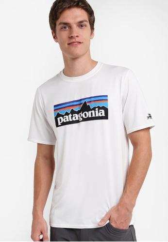 Patagonia white R0 Sun Tee PA549AA97XAKMY_1