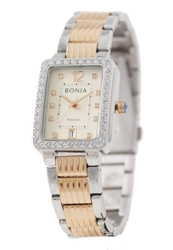 Bonia silver Bonia Rosso - BR156-2615S - Jam Tangan Wanita - Silver Rosegold 64CB7ACBB19D06GS_1