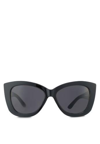 貓眼粗框太zalora鞋子評價陽眼鏡, 飾品配件, 飾品配件