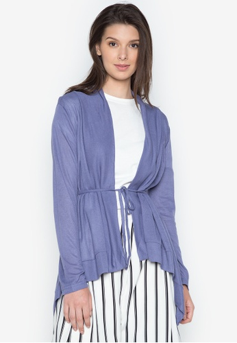 Chloe Edit purple Knitted Cardigan L/S CH672AA0J3QYPH_1
