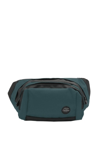 OPTIONS black and green and blue Trail Waist Pouch 80684AC104842FGS_1