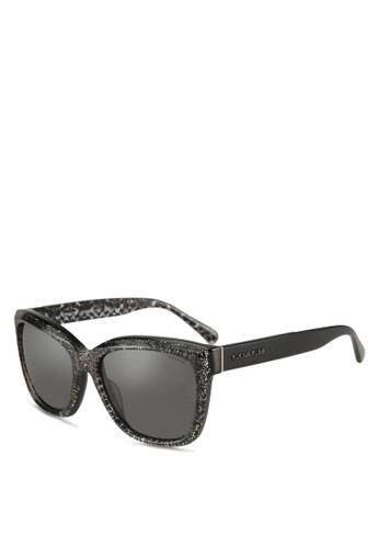 Coach black Coach Poppy HC8230F Sunglasses E41C9GL9144B7FGS_1