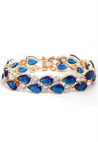 Vivere Rosse blue and gold Monalisa Bracelet VI014AC32NFFMY_1