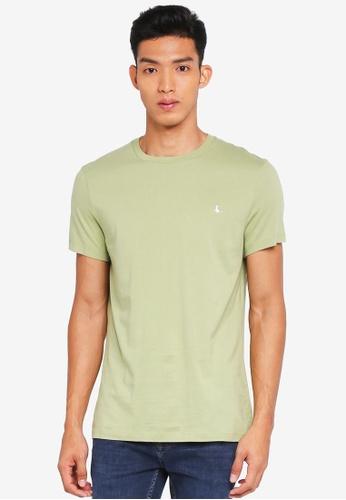 Jack Wills green Sandleford T-Shirt AC771AAF1C1EE7GS_1