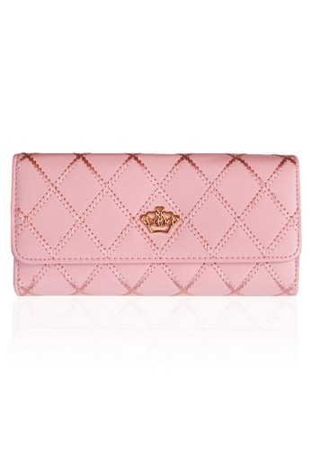 VERNYX - Woman's Lovely Bowknot Wallet DO433 Pink - Dompet Wanita
