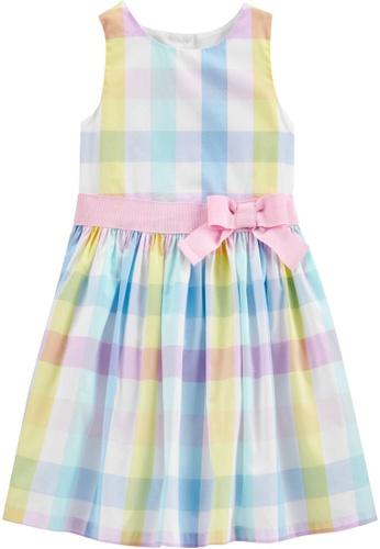 Carter's multi CARTER'S GirlEaster Plaid Gingham Dress 19C6EKA62381D5GS_1