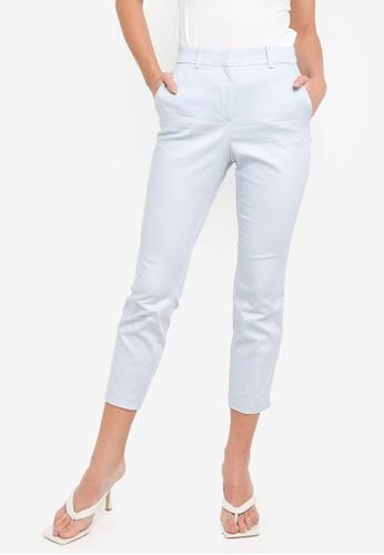H&M blue Cigarette Trousers C4D33AAA411F8CGS_1