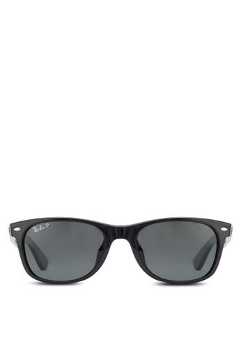 Ray-Ban black New Wayfarer RB2132 Sunglasses RA896GL00BZRMY_1